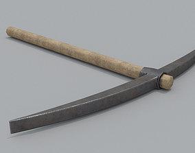 Wooden Pickaxe 3D model