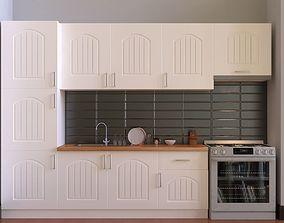 Kitchen Furniture Set storage 3D