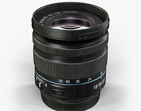 Samsung 18-55mm Lens 3D model