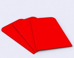 3D Red Envelope Gift