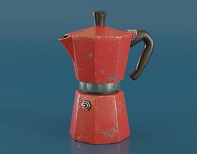 Moka Pot 3D asset
