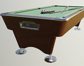 3D asset pool table