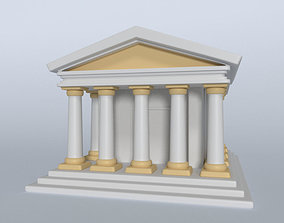 Greek Temple 3D