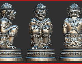Hanuman Monkey King 3D print model