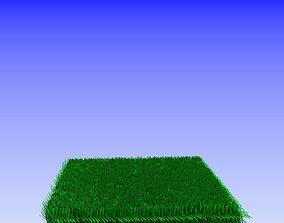 grass model with blender