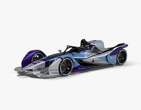 Andretti Formula E 2020 3D asset