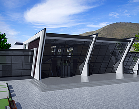 Conference centre 3D model