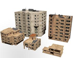 middle east buildings 3D