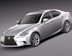 3D model Lexus IS - 2014