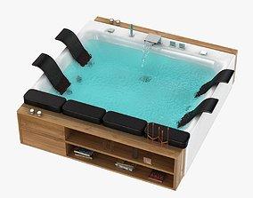 blubleu thais art bath jacuzzi 3D model