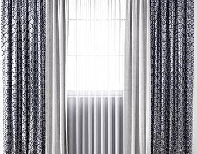 Curtain 123 3D model