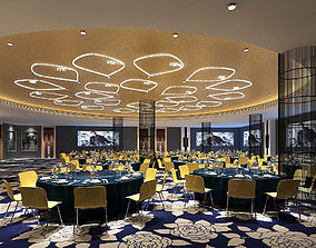 3D Business Restaurant - Coffee - Banquet 197