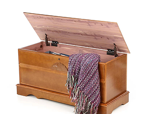 3D Loon Peak Cromwell Cedar Chest with Locking Lid