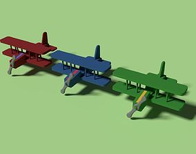 Low Poly Planes - Changeable Colors - Game Ready 3D model
