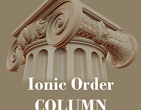 3D model Ionic order - COLUMN pillar