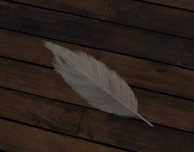 abstract Feather 3D model