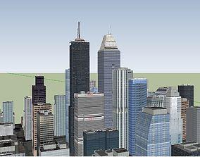 3D model Big City