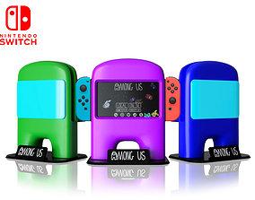 Among US Nintendo Switch Dock 3D printable model