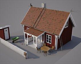 Swedish cabin 3D