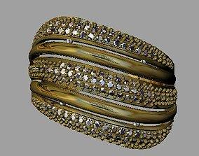 3D print model brilliant Fashion Women Ring