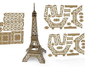 Eiffel tower 3D Model other architecture