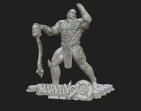 3D print model Darkseid VS Thanos - Fan Art