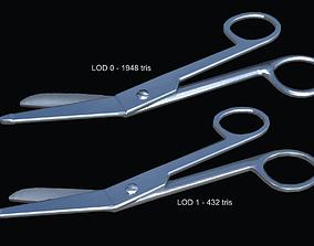 Scissors PBR Game Ready 3D asset