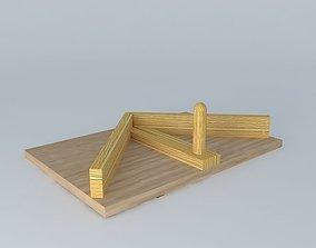 3D Feedback to Cut Half Angles