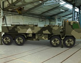 3D asset realtime Military Truck
