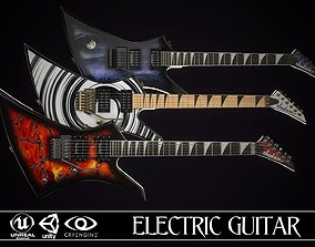 3D model Electric guitar Jackson Kelly 3 skins