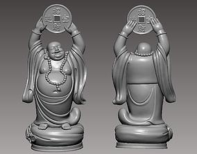 Maitreya buddha 3D print model bodhisattva