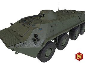 Russian BTR-70 Pack 3D asset