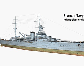 3D Friant class cruiser
