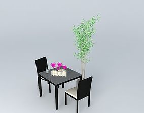 3D Garden furniture Miami Maisons du Monde