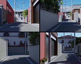 Anime Street 3D model