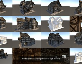 Medieval City Buildings Collection 3D