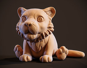 3D printable model Little Tiger Toy
