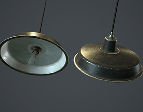 3D asset Hanging Lamp PBR Game Ready