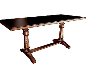 3D Dinning table 10