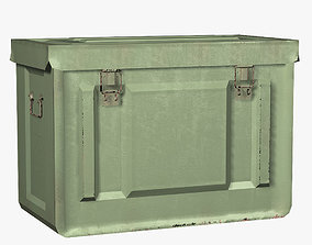 Ammo Box 20mm MK3 WWII US Military 3D