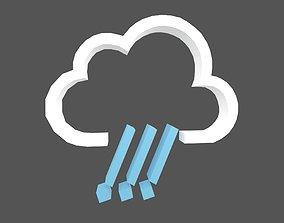 3D asset Weather Symbol v3 001