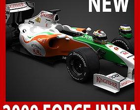 F1 2009 Force India VJM02 3D