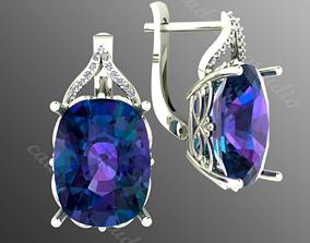 3D print model Earrings op1
