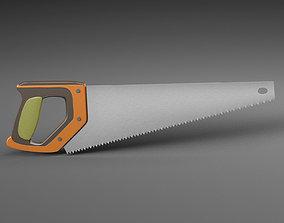 Hand saw 3D model tools
