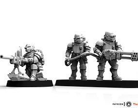 Feudal Guard Elite Special Weapon team 3D printable model