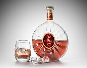 3D model Remy Martin XO Champagne