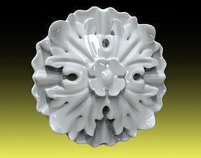 sculptures 3D print model Rozette 006