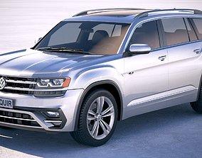3D Volkswagen Atlas R-Line 2018