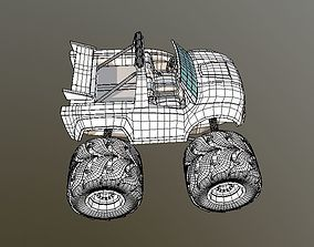 Cartoon Car video 3D asset realtime