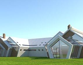 3D asset future house